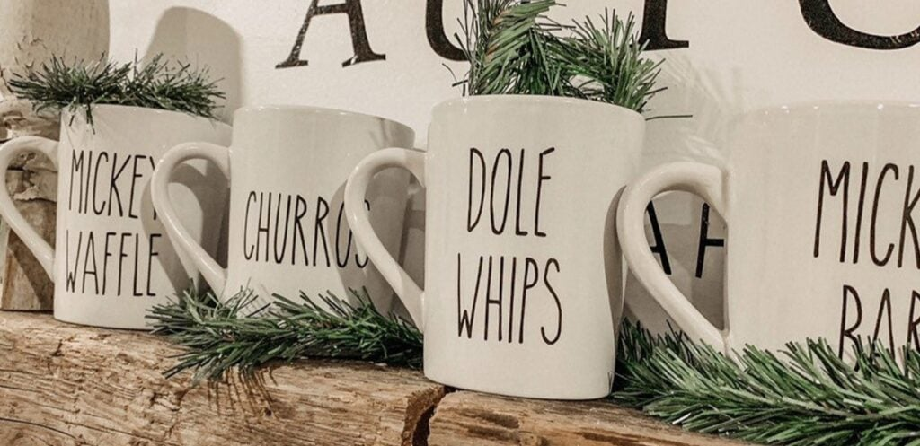 disney farmhouse mugs Etsy