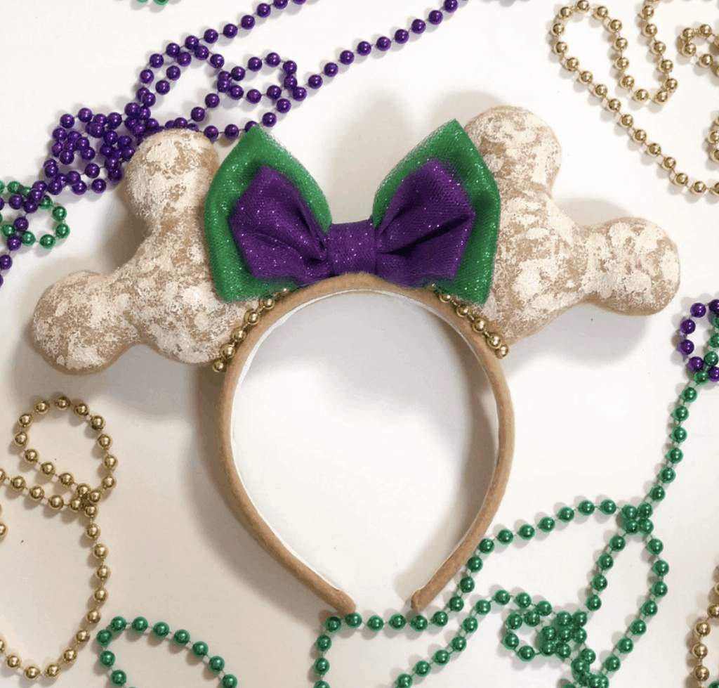 disney Minnie Mouse ears with beignets