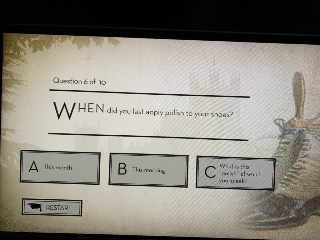 downton abbey quiz