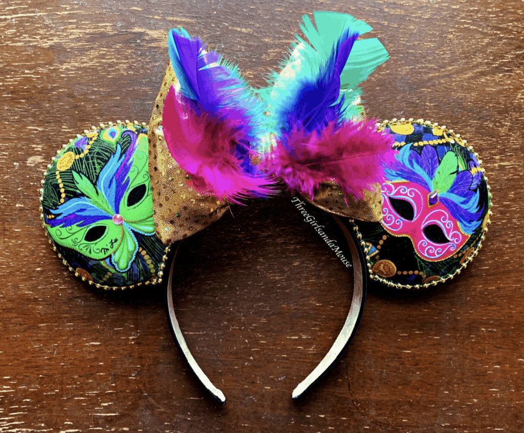 Disney Mardi Gras Ears