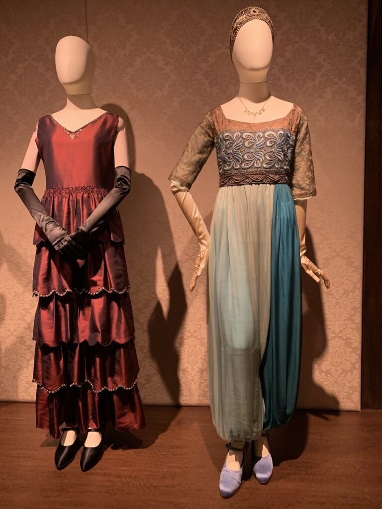 Downton costumes Biltmore clothing from tv show