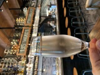Champagne Glass At Wine Bar George
