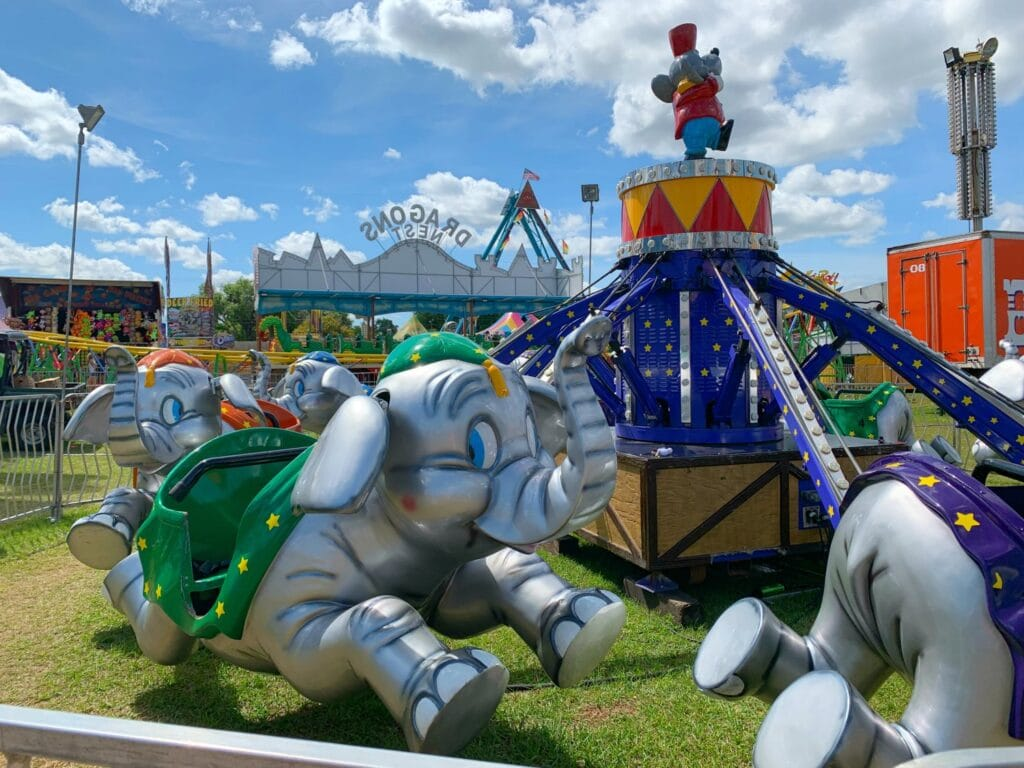 Dumbo Ride at Florida Strawberry Festival