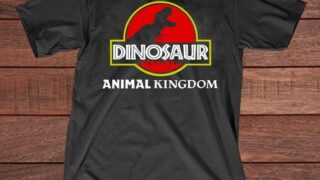 This one of a kind Dinosaur Shirt inspired from Disney's Animal Kingdom - The Dinosaur Ride with Jurassic Design from Dinoland - T-Rex