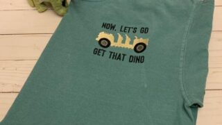 Let's go get that Dino T-Shirt
