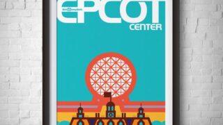 Epcot Vintage, Epcot Center, Disneyland Vintage, Disney Print, Disneyworld Print, Epcot Poster, Epcot Center Poster, Wall Art, WDW