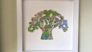 Animal Kingdom Tree, Animal Kingdom map, Tree of LIfe, Disney map wall art, 3D Wall art