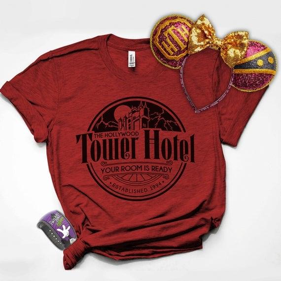 Tower of Terror Shirt, Disney Shirts for Men and Women, Disney Family Shirts, Cruise Disney Shirts, Hollywood Studios Shirt, Disney Shirts