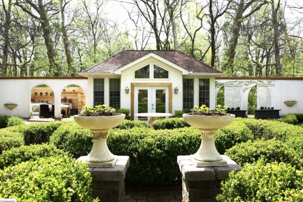 garden villa airbnb