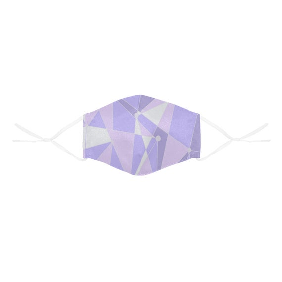 Purple Wall Epcot Inspired Face Mask with Filter Pocket