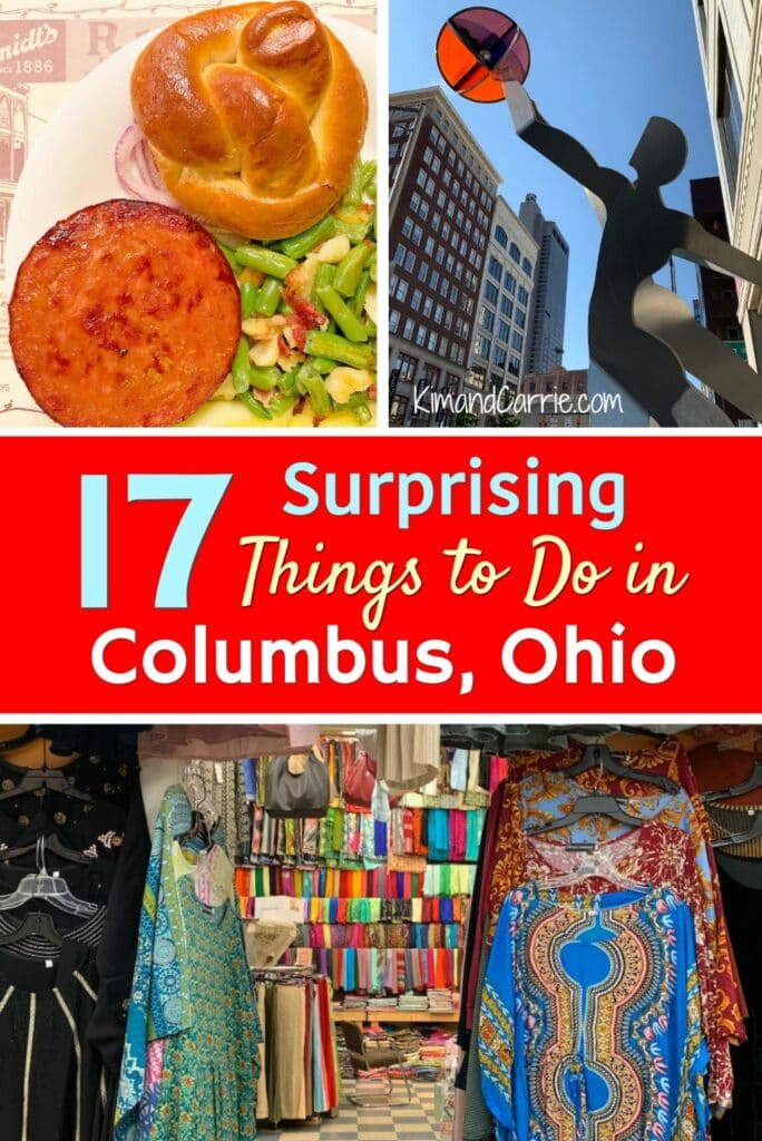 collage of things to do in Columbus Ohio