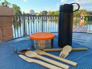 reusable utensil kit for Disney